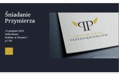 13.12.2019 – Śniadanie Przymierza, gość specjalny: Ks prof.Eward Staniek