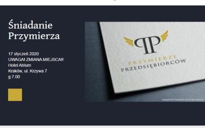 17.01.2020 – Śniadanie Przymierza, gość specjalny: ks.prałat Piotr Prieto, Prałatura Personalna Opus Dei