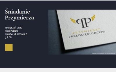 10.01.2020 – Śniadanie Przymierza, gość specjalny: pani Katarzyna Mader – Dyrektor Ośrodka Adopcyjnego