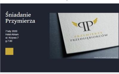 07.02.2020 – Śniadanie Przymierza, Grzegorz Patyk opowie oswojej firmie tłumaczeń Polyland